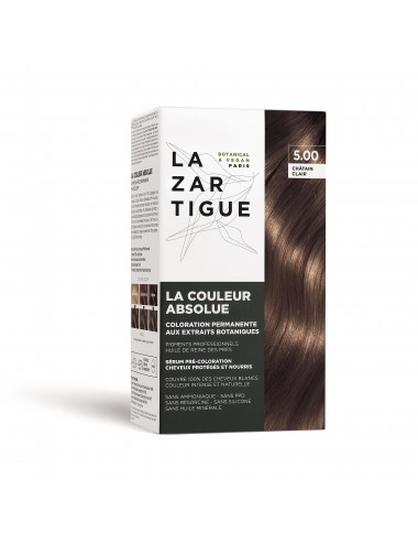 Lazartigue Coloration permanente 5.00 aux extraits botaniques La Couleur Absolue