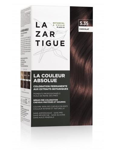 Lazartigue Coloration permanente 5.35 aux extraits botaniques La Couleur Absolue