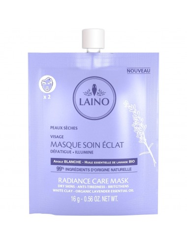Laino Masque Soin Eclat 16G