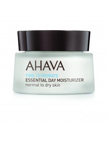 Ahava Hydratant essentiel de jour - Peaux Normales à Sèches 50ml