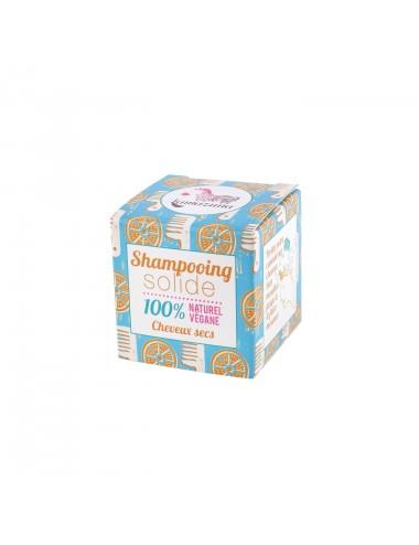 Lamazuna Shampooing solide cheveux secs à l'orange 55g