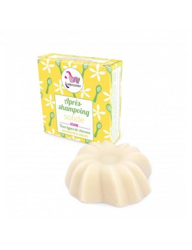 Lamazuna Après-shampoing solide aux douces notes vanillées - 74ml