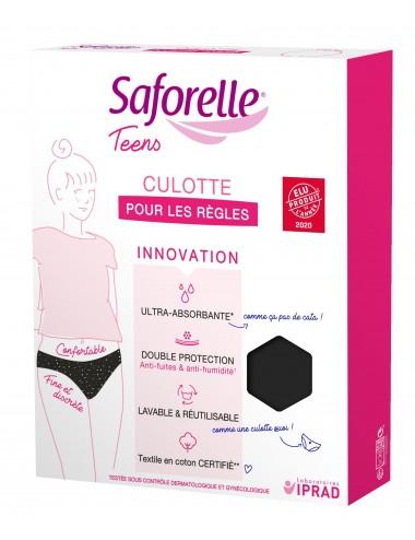 Saforelle Culotte Ultra Absorbante 1ère Règles Teens Taille 12 ans