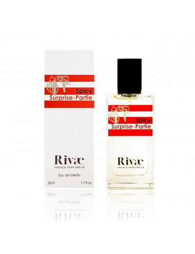 Rivaé Spicy Surprise-Partie Eau de toilette Agrumes et Epices 50ml