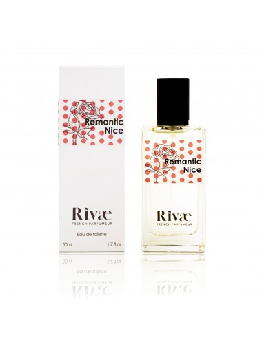 Rivaé Romantic Nice Eau de toilette Rose et Agrumes 50ml