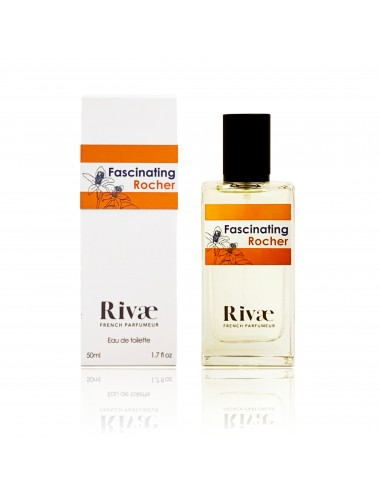 Rivaé Fascinating Rocher Eau de toilette Agrumes et Fleur d'Oranger 50ml