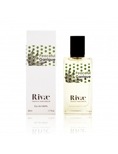 Rivaé Peaceful Garrigue Eau de toilette Verveine et Agrumes 50ml