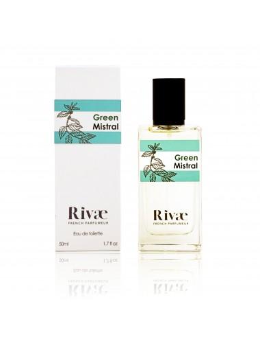 Rivaé Green Mistral Eau de toilette Agrumes et Herbes Aromatiques 50ml