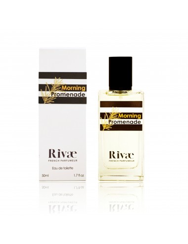 Rivaé Morning Promenade Eau de toilette Agrumes et Notes Marines 50ml
