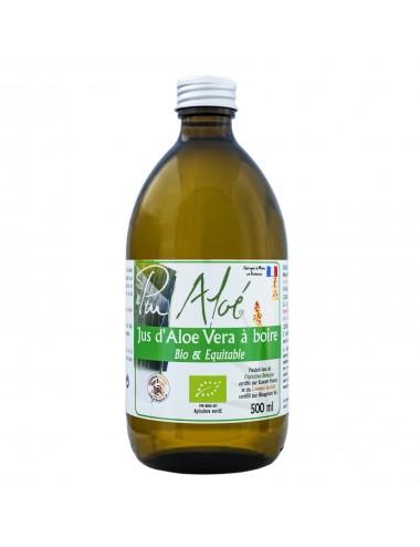 Pur Aloe Jus d'aloé véra Bio Pasteurise à boire 1L