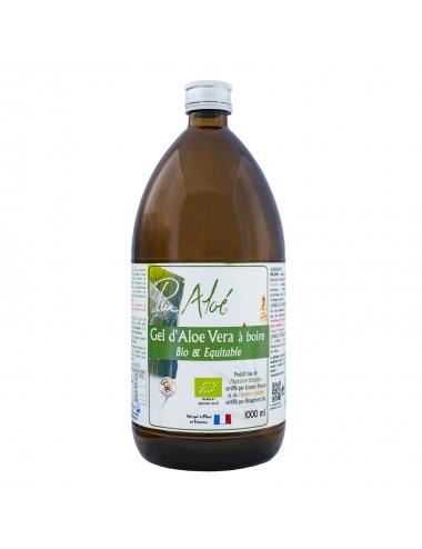 Pur Aloe Gel d'aloé véra  Bio Pasteurise à boire 1L