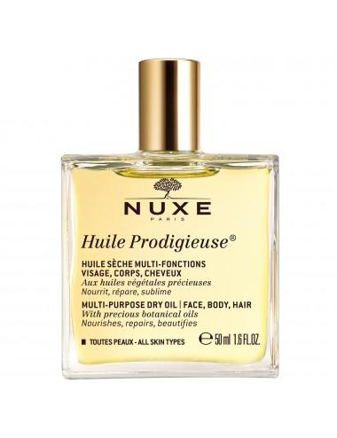 Nuxe Huile prodigieuse- huile sèche multi-fonctions visage, corps, cheveux 50ml