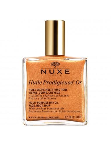 Nuxe Huile prodigieuse or - huile sèche multi-fonctions visage, corps, cheveux 100ml
