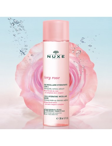 Nuxe Very Rose Eau Micellaire Hydratante 3-en-1 200ml