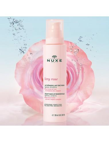 Nuxe Very Rose Lait Démaquillant Onctueux 200ml