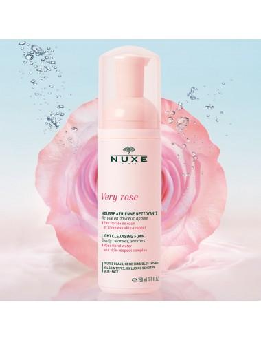 Nuxe Very Rose Mousse Aérienne Nettoyante 150ml