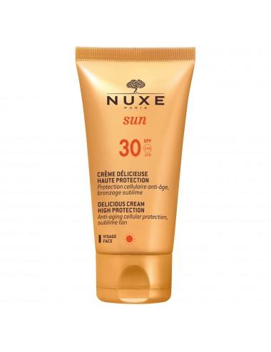 Nuxe Sun Crème Délicieuse Haute Protection SPF30 50ml