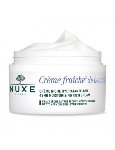 Nuxe Crème fraiche de beauté - crème riche hydratante 48h et anti-pollution 50ml