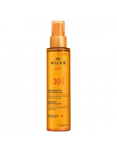 Nuxe Sun Huile Bronzante Haute Protection SPF30 150ml