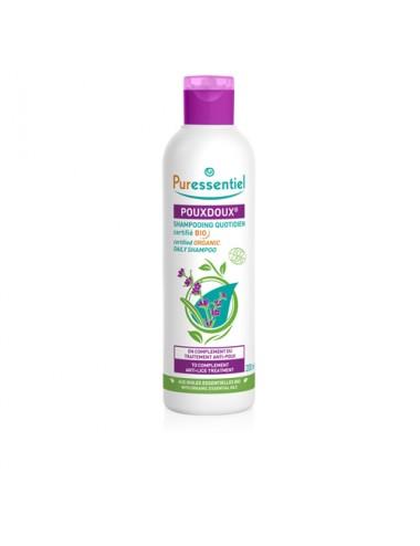 Puressentiel Antipoux Shampooing Quotidien Pouxdoux certifié Bio 200ml