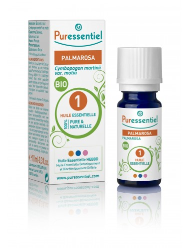 Puressentiel Huiles Essentielles de Palmarosa Bio 10ml