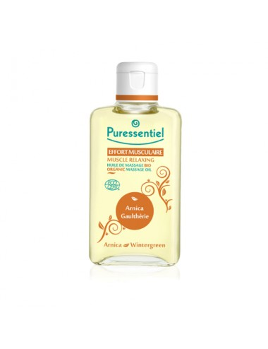Puressentiel Articulations et Muscles Huile de massage Bio 100ml
