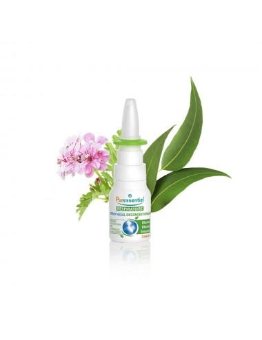 Puressentiel Respiratoire Spray Nasal Décongestionnant aux Huiles Essentielles Bio 15ml