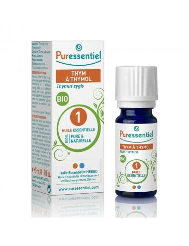 Puressentiel Huiles Essentielles de Thym à thymol Bio 5ml