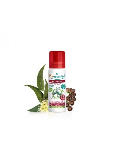 Puressentiel Antipique Spray Répulsif Bébé Anti-Pique 60ml