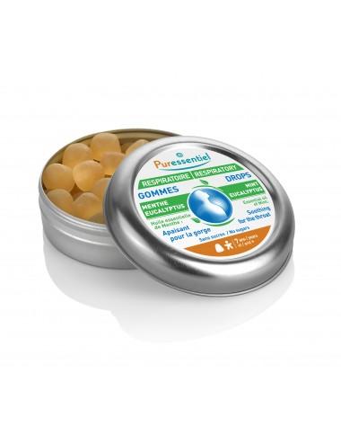 Puressentiel Respiratoire Gommes Menthe-Eucalyptus Respiratoire 45g