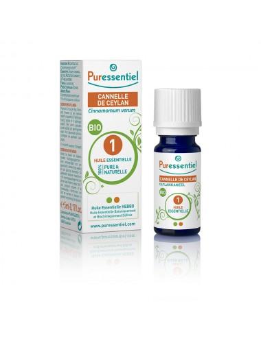 Puressentiel Huiles Essentielles de Cannelle de Ceylan Bio 5ml