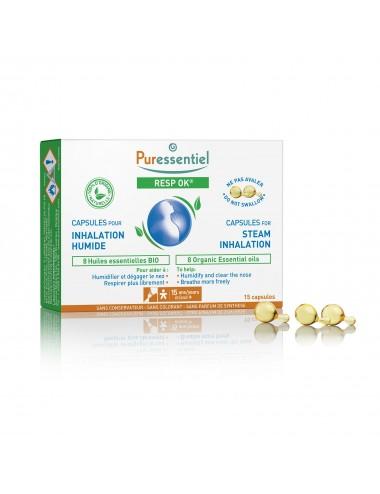 Puressentiel Respiratoire Capsules pour inhalation Resp'OK 15 capsules