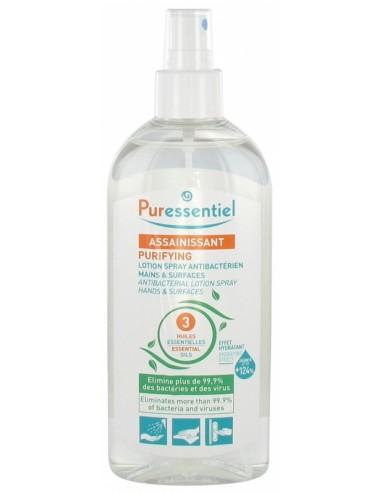 Puressentiel Assainissant Lotion Spray Antibactérien mains & surfaces 250ml