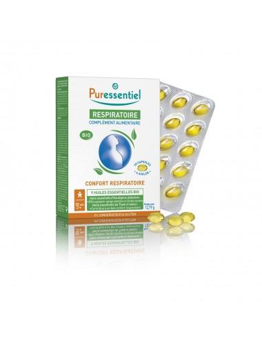 Puressentiel Respiratoire Complément Alimentaire Bio 30 Capsules