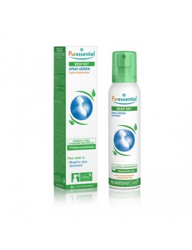 Puressentiel Respiratoire Spray Aérien Resp'OK Format Familial 200ml