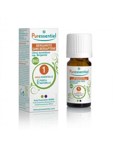 Puressentiel Huiles Essentielles de Bergamote Bio 10ml