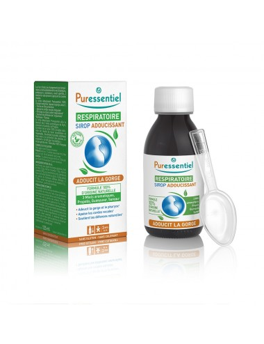 Puressentiel Respiratoire Sirop Adoucissant Respiratoire 125ml