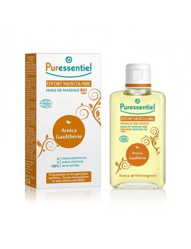 Puressentiel Articulations et Muscles Huile de massage Bio 200ml