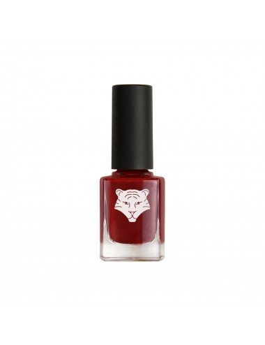 All Tigers Vernis à Ongles Naturel & Vegan 207 ROUGE BORDEAUX - PLAY WITH FIRE 11ml