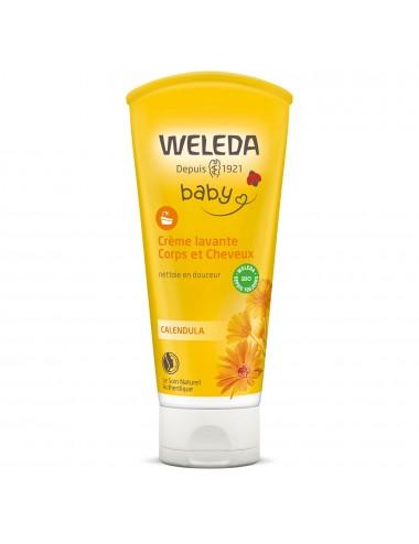 Weleda Crème lavante Corps et Cheveux 200ml