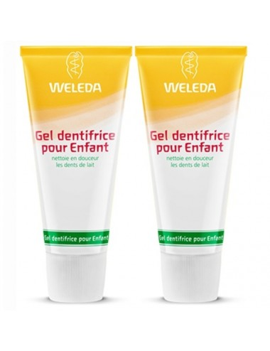 Weleda Duo Gel dentifrice pour Enfant 100ml