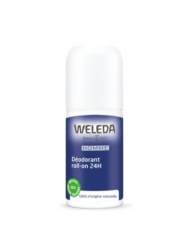 Weleda Déodorant Roll-on 24H Homme 50ml