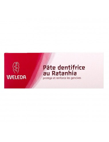 Weleda Pâte dentifrice au Ratanhia 75ml
