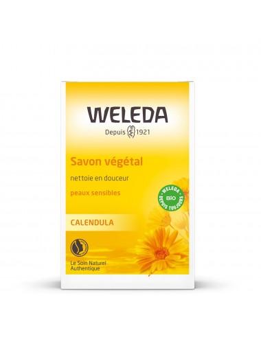 Weleda Savon végétal au Calendula 100g