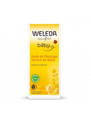 Weleda Huile de Massage Ventre de Bébé 50ml