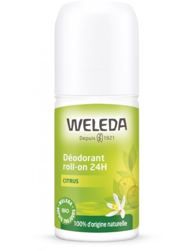 Weleda Déodorant Roll-on 24H Citrus 50ml