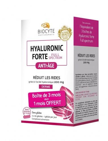 Biocyte Pack Hyaluronic Full Spectrum 90 Gelules