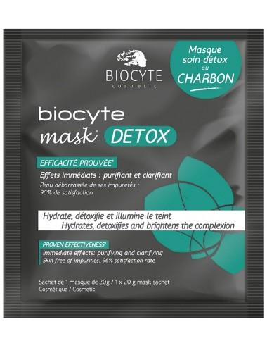 Biocyte Mask Detox Charbon Unitaire 20g