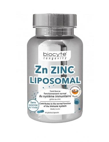 Biocyte Zn Zinc Liposomal 60 Gelules