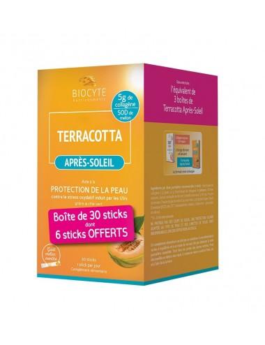 Biocyte Pack Terracotta Apres Soleil 30 Sticks